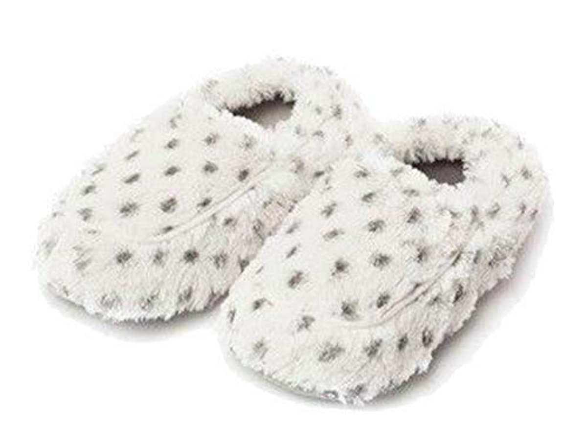Intelex Fully Microwavable Luxury Cozy Slippers