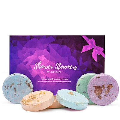 Cleverfy Shower Bombs (6-Piece Set)
