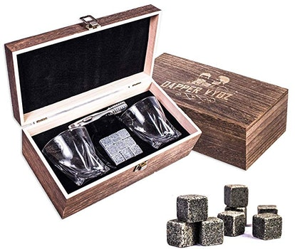 Dapper Vybz Whiskey Stones Gift Set
