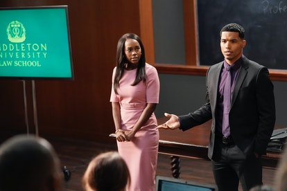 Micahela and Gabriel in How To Get Away With Murder