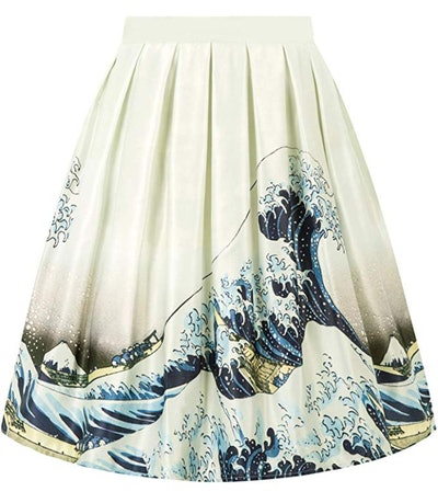 GRACE KARIN Pleated Vintage Skirt