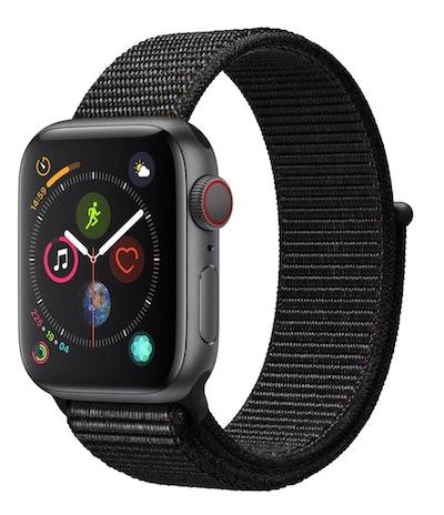 Apple Watch Series 4 GPS + Cellular - 44mm - Sport Loop - Aluminum Case