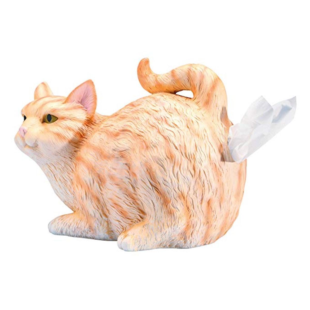 WHAT ON EARTH Cat Butt Tissue Holder