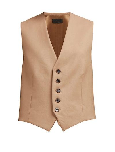 Angelina Tailored Twill Waistcoat