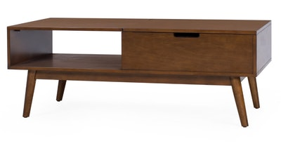 Belham Living Campbell Mid Century Modern Lift Top Coffee Table