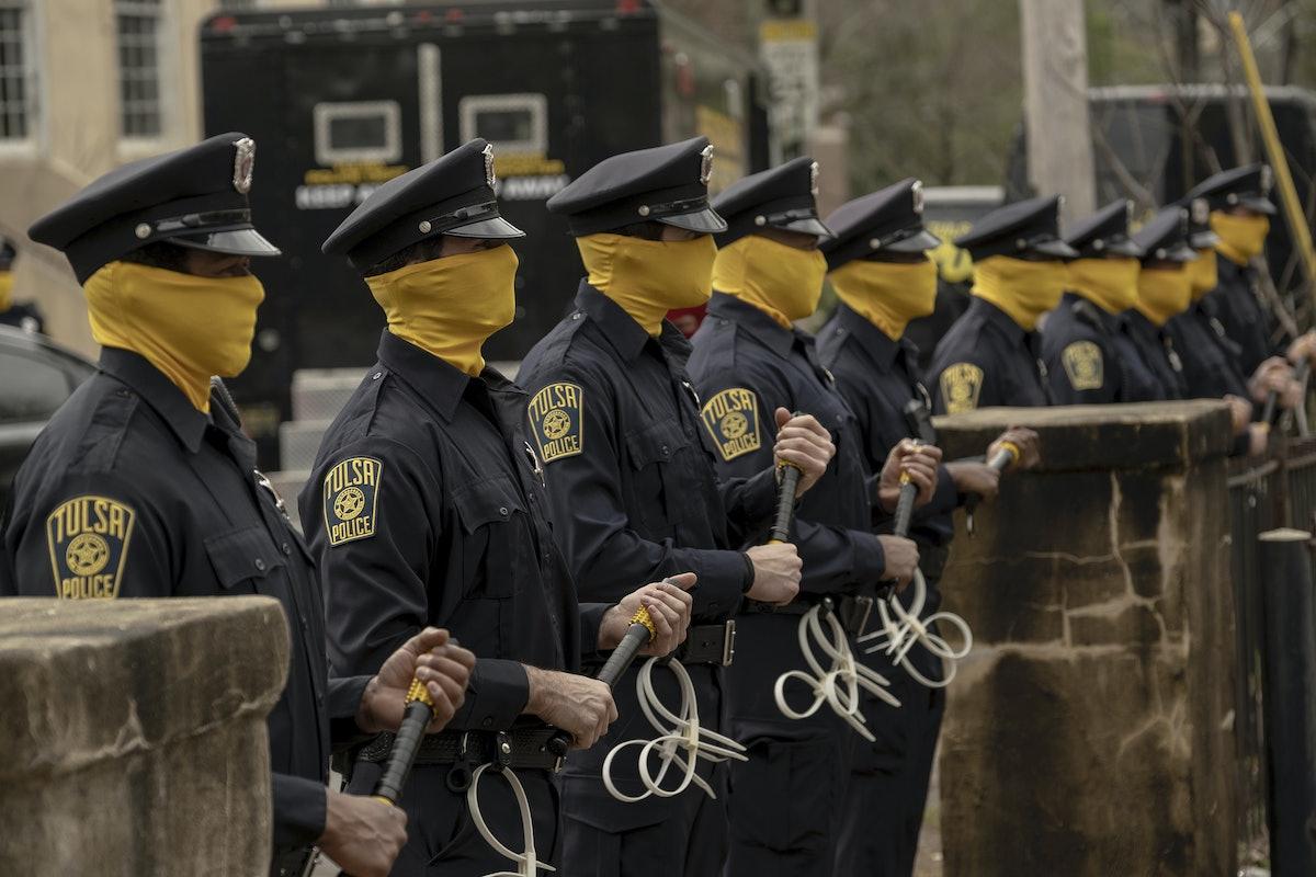 Scene for HBO's Watchmen
