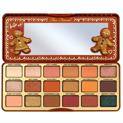 Too Faced Gingerbread Extra Spicy Eyeshadow Palette