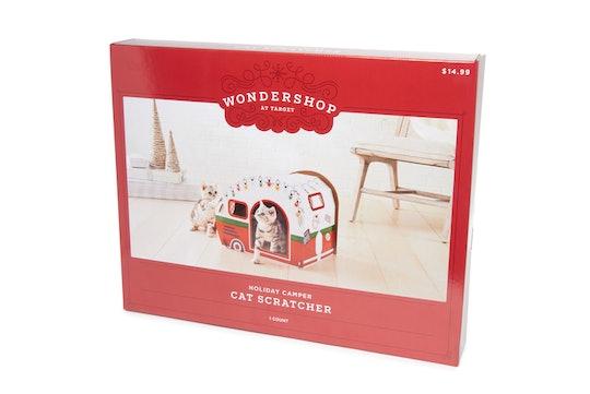 Target's Holiday Camper Cat Scratcher