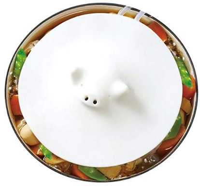 Marna White Piggy Steamer
