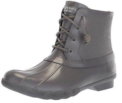 SPERRY Women's Saltwater Rubber Flooded Rain Boot