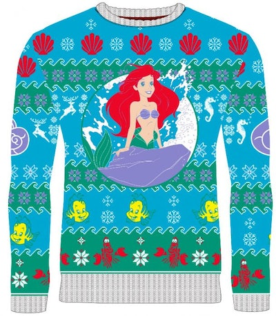 The Little Mermaid: Part Of Your Holidays Knitted Christmas Jumper