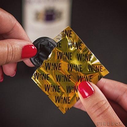 Wine Condoms | Wine & Beverage Bottle Stopper (6-Pack)