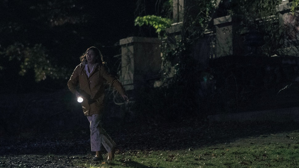 Annie Wilkes runs from Marsten House on Castle Rock