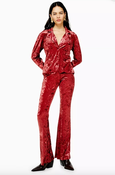 Band Of Gypsies Crushed Velvet Co-Ord