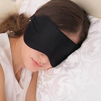Alaska Bear Silk Sleep Mask