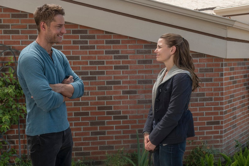 Justin Hartley as Kevin and Jennifer Morrison as Cassidy on 'This Is Us'