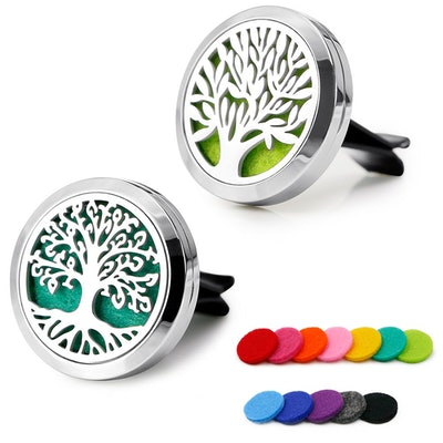 RoyAroma Car Aromatherapy Essential Oil Diffuser (2-Pack)