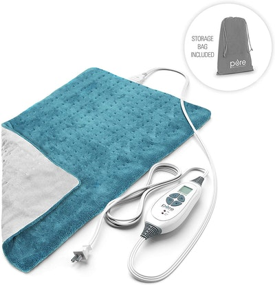 Pure Enrichment PureRelief XL Heating Pad for Back Pain and Cramps