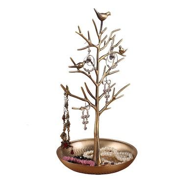 INVIKTUS Silver Tree Jewelry Stand