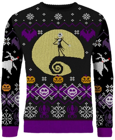Nightmare Before Christmas: 'What's This?' Knitted Christmas Jumper