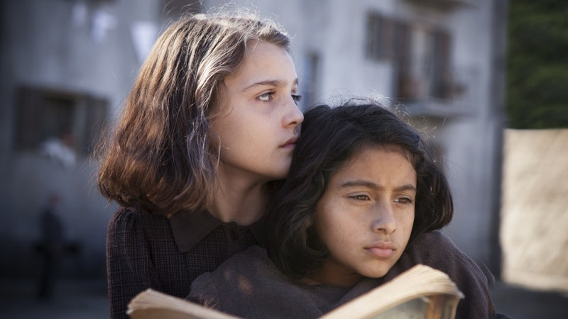 Pictured above are the actresses who play Lila and Elena in HBO's 'My Brilliant Friend,' an adaptation of Elena Ferrante's Neapolitan novels.