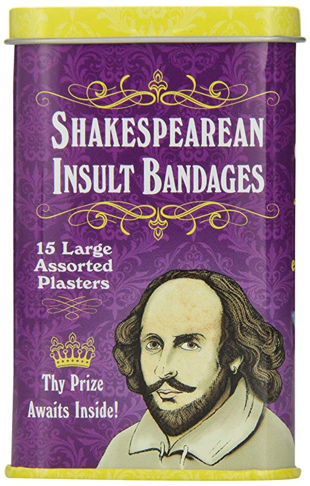 Accoutrements Shakespearean Insult Bandages (15-Pack)