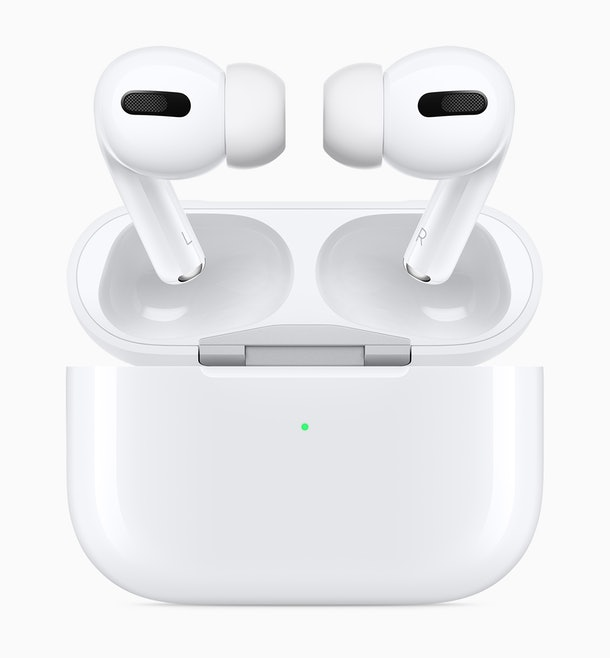 Apple's New AirPods Pro Headphones come with a brand new look.