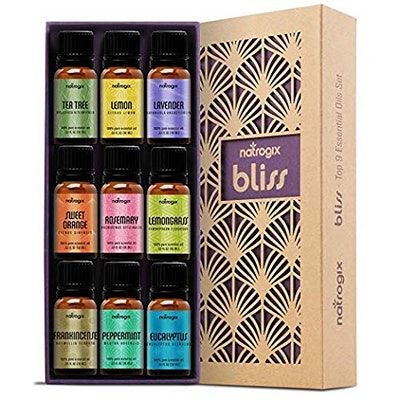 Natrogix Bliss Essential Oils (9-Piece Set)