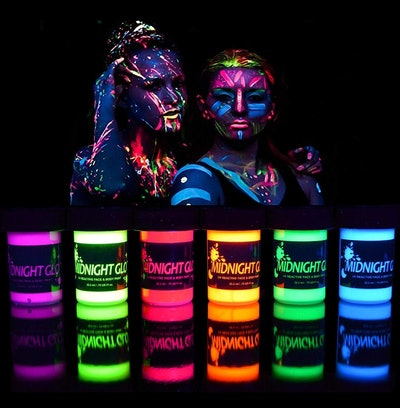 Midnight Glo UV Neon Face & Body Paint (6-Pack)