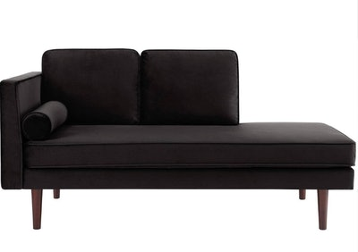 DHP Nola Mid Century Modern Upholstered Daybed/Chaise, Multiple Colors