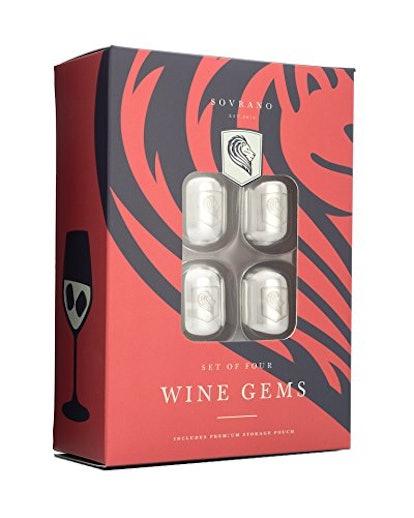 Sovrano Wine Gems (Set of 4)