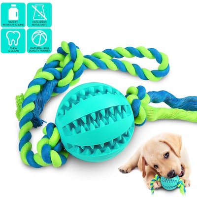 CHLEBEM Interactive Dog Toy Chew Ball