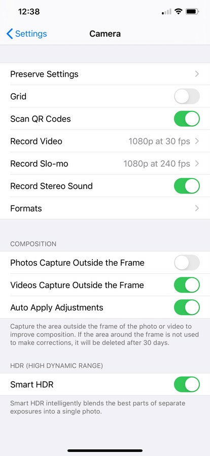 The Deep Fusion feature on IOS 13.2 helps your photos look even clearer and more texturized.
