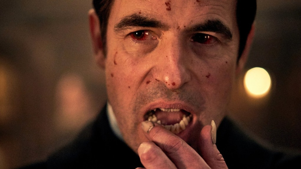 Still from the first trailer of Dracula from the BBC and Netflix