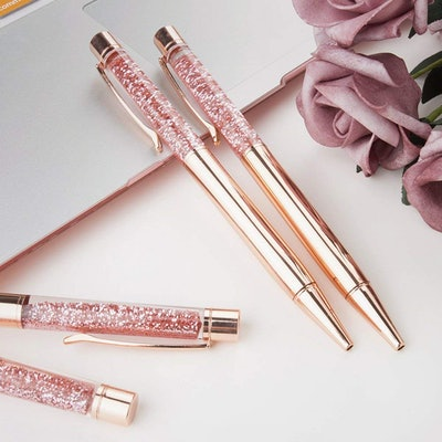 BYSOU Rose Gold Metal Pens