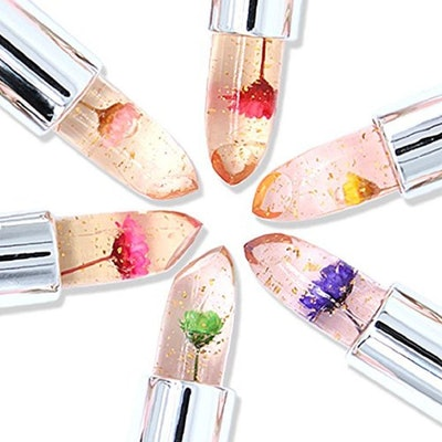 FirstFly Crystal Flower Jelly Lipstick (6 Pack)