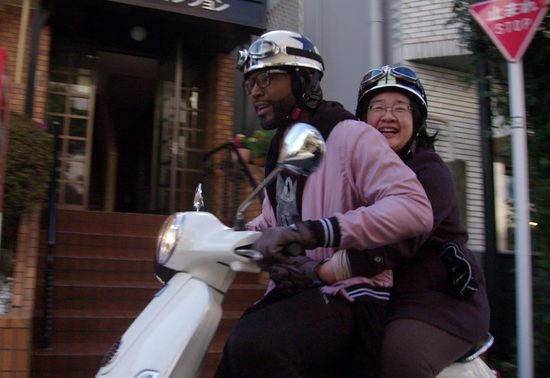 Yoko and Karamo Brown in 'Queer Eye: We're In Japan!'