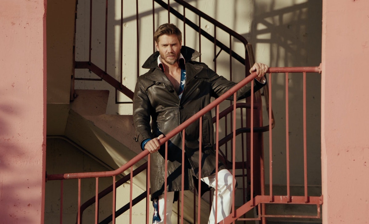 Chad Michael Murray as Edgar Evernever on 'Riverdale'