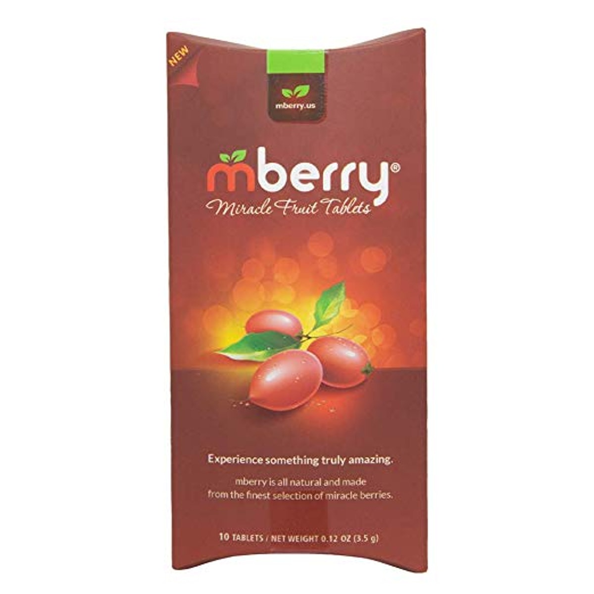 mberry Miracle Fruit Tablets (10 count)