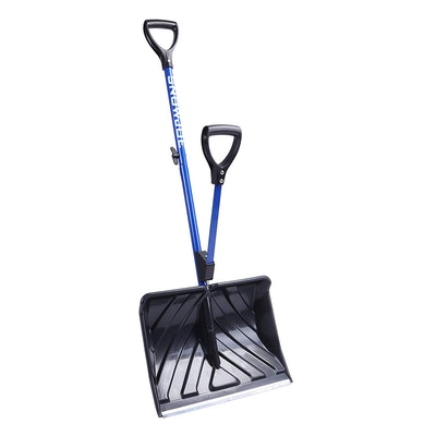 Snow Joe Shovelution Strain-Reducing Snow Shovel