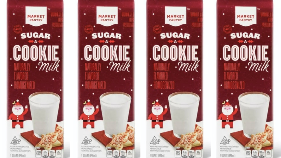 Sugar Cookie Milk is back at Target for 2019.