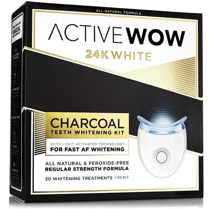 Active Wow Natural Charcoal Teeth Whitening Kit