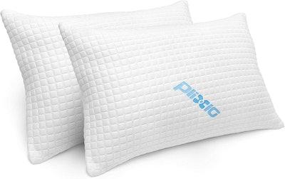 Plixio Memory Foam Pillows (2-Pack)
