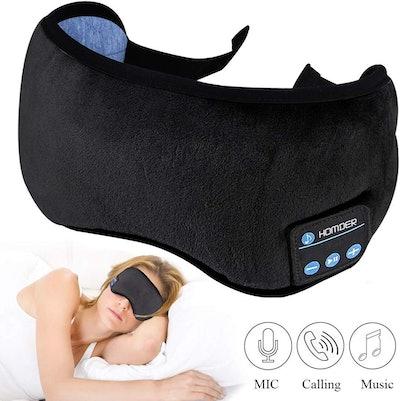 Homder Sleep Headphones Bluetooth Eye Mask
