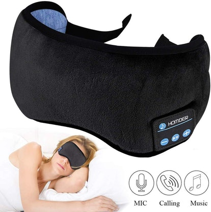 Homder Sleep Headphones Bluetooth Eye Mask