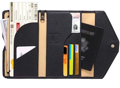 Zoppen Rfid Blocking Passport Wallet