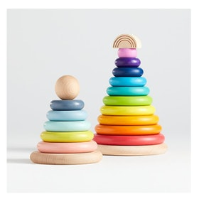 Crate & Kids Small Baby Stacking Rings (0+)