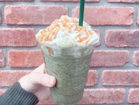 The Mercury Retrograde Frappuccino at Starbucks.