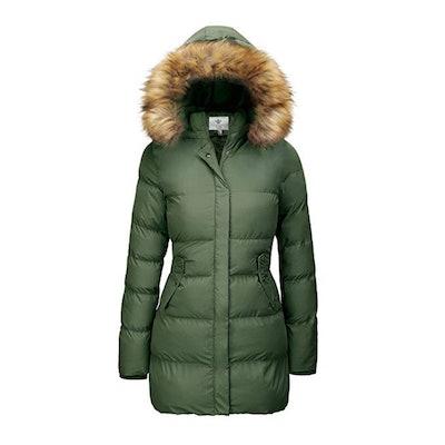 WenVen Women's Puffer Coat