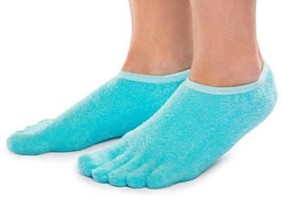 NatraCure Gel Moisturizing Socks